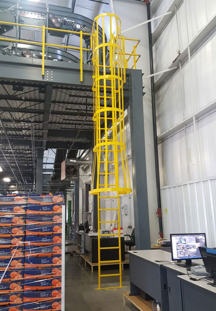 Mezzanine Equipment Platform Catwalk Crossover Project