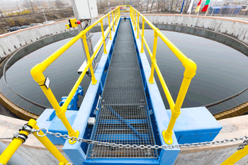 steel structures for wastewater treatment plants