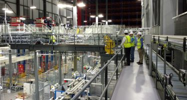 distribution center mezzanine system