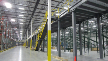 clothing retailer DC material handling system