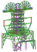 oil exploration equipment tower