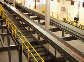 catwalk along conveyors
