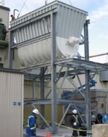 structure supporting chemical plant hopper