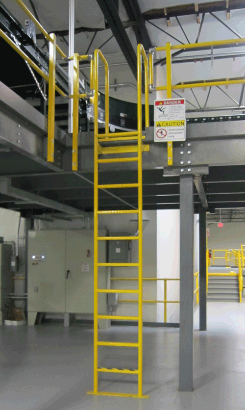 Mezzanine, Equipment Platform, Catwalk, Crossover Project ...