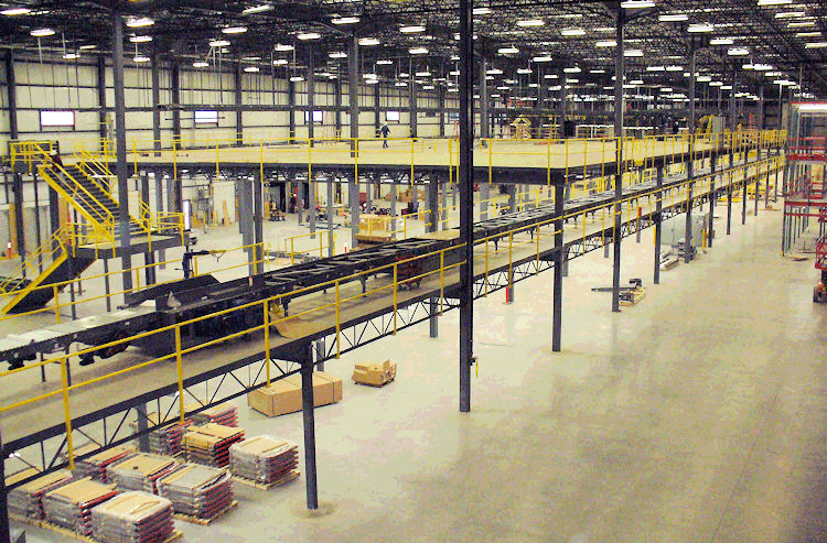 Mezzanines and Equipment Platforms, Storage Platforms – Steel