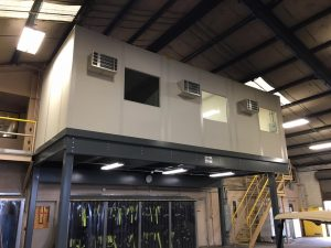 Office Mezzanine Expands Workspace, Improves Manufacturing