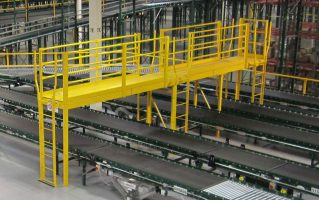 conveyor crossover bridge