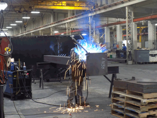 welding at Orchard Street