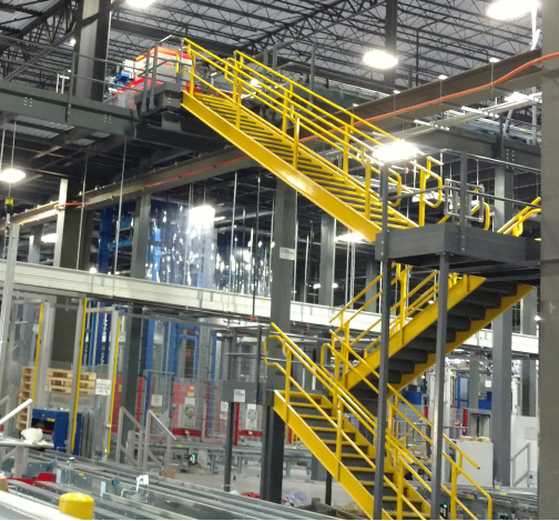 steel catwalks and stairs